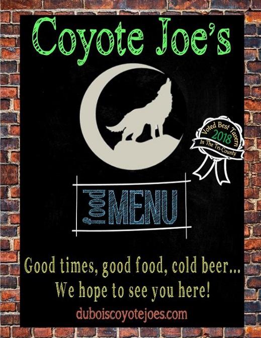 coyote menu 2018PIC (1) web