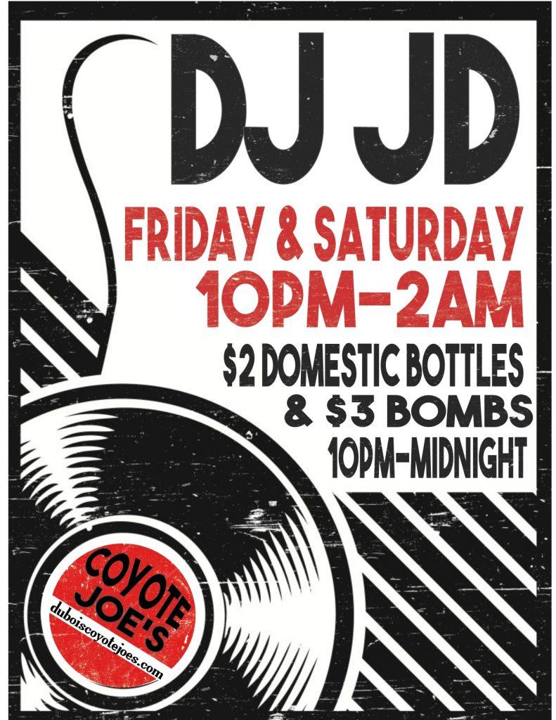 DJ JD FLYER