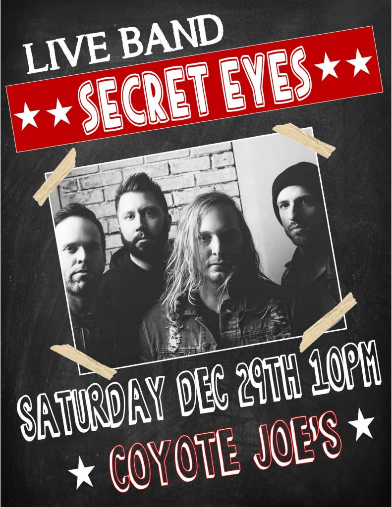 SECRET EYES FLYER